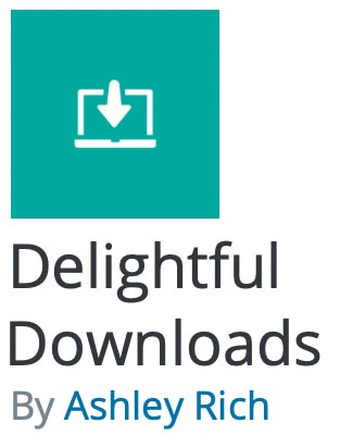 Delightful Downloads by Ashley Rich